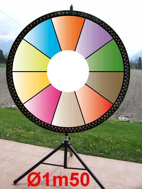roue de la fortune animation roue de la chance pour lotto location vente. Black Bedroom Furniture Sets. Home Design Ideas